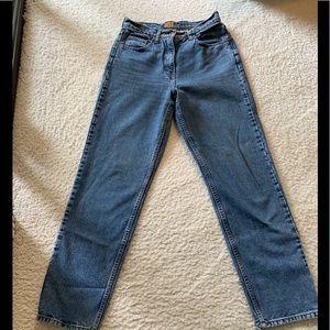 Vintage Ann Taylor high rise jeans size 6 regular.